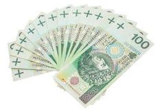 Unter Verwendung der geld- Finanzen - Darlehen - Polen Lizenzfreies Stockbild