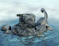 Unter Wasser lizenzfreie abbildung