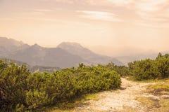 The Unterberghorn in Tirol, Austria Stock Images