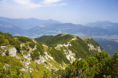 The Unterberghorn in Tirol, Austria Royalty Free Stock Photos
