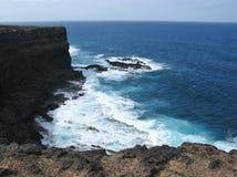 Unterbrecher an der Westküste von Fuerteventura Stockbilder