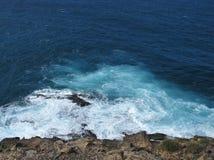 Unterbrecher an der Westküste von Fuerteventura Lizenzfreie Stockfotos