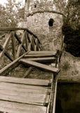 Unterbrochene Brücke Lizenzfreies Stockfoto