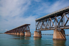 Unterbrochene Brücke Lizenzfreie Stockfotografie