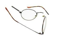 Unterbrochene Brillen lizenzfreie stockfotografie