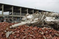 Unterbrochene Fabrik Stockbild