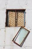 Unterbrochene Fenster Stockbild