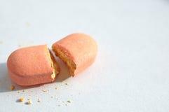 Unterbrochene Pille Lizenzfreies Stockbild