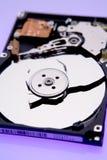 Unterbrochene Platte auf Festplattenlaufwerk Lizenzfreies Stockfoto