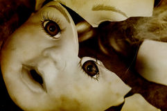 Unterbrochene Puppe Stockbild