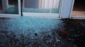 Unterbrochene Tür Stockfoto