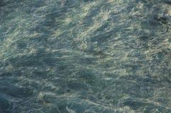 Unterbrochene Wellenbeschaffenheit Stockbild