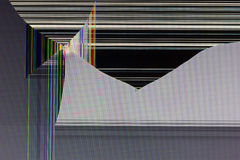 Unterbrochener Bildschirm Lizenzfreie Stockfotografie