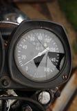 Unterbrochener Geschwindigkeitsmesser Lizenzfreies Stockfoto