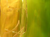 Unterbrochener Glashintergrund Stockfoto