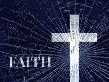 Unterbrochener Glaube stockbilder