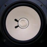 Unterbrochener Lautsprecher Stockfoto