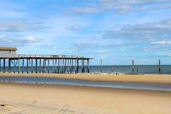 Unterbrochener Pier Stockbild