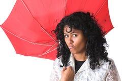 Unterbrochener Regenschirm Lizenzfreie Stockfotos