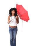 Unterbrochener Regenschirm stockbilder