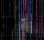 Unterbrochener Technologiehintergrund Stockfotografie