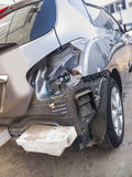 Unterbrochenes Auto Stockfoto
