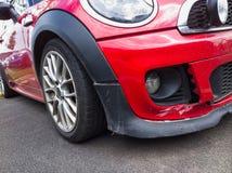 Unterbrochenes Auto Stockbild