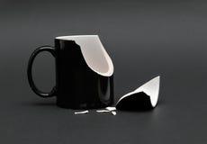 Unterbrochenes Cup Lizenzfreies Stockfoto
