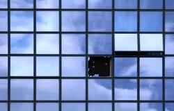 Unterbrochenes Fenster Lizenzfreie Stockfotografie