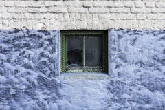Unterbrochenes Fenster Lizenzfreie Stockfotos