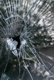 Unterbrochenes Fensterglas Lizenzfreie Stockbilder