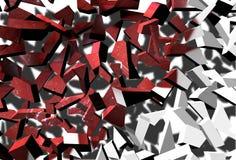 Unterbrochenes Foto vektor abbildung