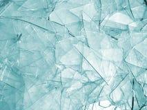 Unterbrochenes Glas Stockfotos