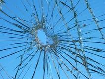 Unterbrochenes Glas Lizenzfreies Stockfoto