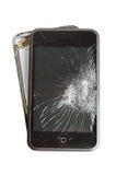 Unterbrochenes smartphone Stockfotografie