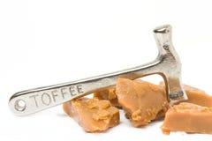Unterbrochenes Toffee Stockbild