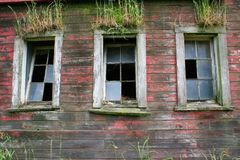 Unterbrochenes Windows Stockfotografie
