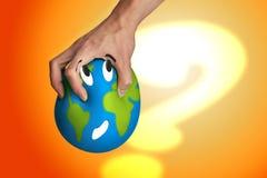 Unterdrücken Sie die Welt Lizenzfreie Stockfotos