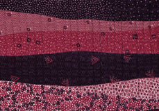 Untere Zusammenfassungen von einer Landschaft in den Farben des Weins Lizenzfreies Stockbild