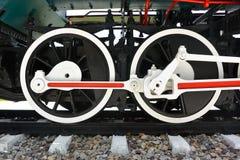 Untererer Teil des alten Zugs Lizenzfreies Stockfoto