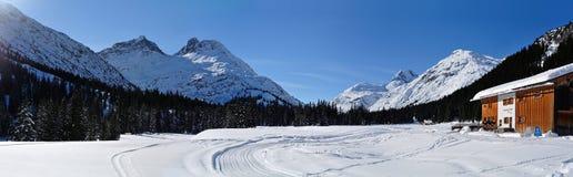 Unteres Alpele, Vorarlberg, Αυστρία Στοκ Φωτογραφίες