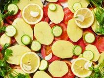 Unteres Gemüse stockfoto