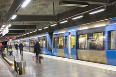 Untergrundbahn Stockbilder