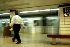 Untergrundbahn-Geschäftsmann Lizenzfreie Stockbilder