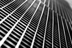 Untergrundbahn-Gitter-Nahaufnahme Stockfoto