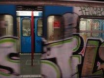 Untergrundbahn römisch Stockbild