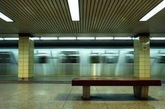 Untergrundbahn Sideview Lizenzfreie Stockfotografie