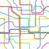 Untergrundbahnfliese Stockbild