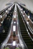 Untergrundbahnhöhenruder Stockfotos
