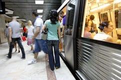 Untergrundbahnleute Lizenzfreie Stockfotografie